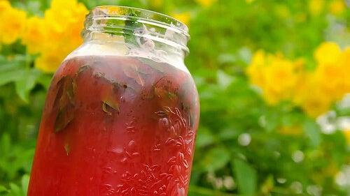 Sok z arbuza na usunięcie nadmiaru wody