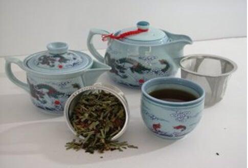 Komplet naczyń do herbaty