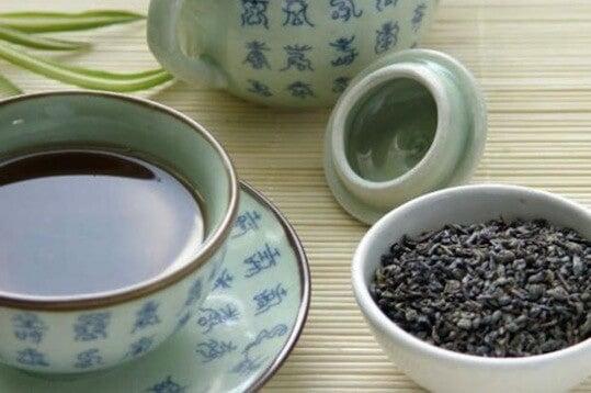 Ulung - niebieska herbata