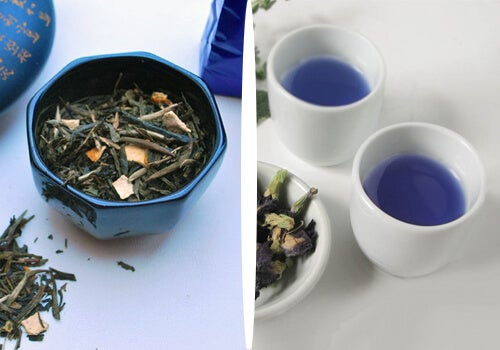 Jak niebieska herbata pomaga zrzucić kilogramy