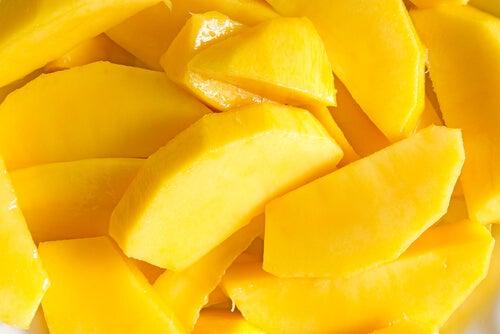 Kawałki mango