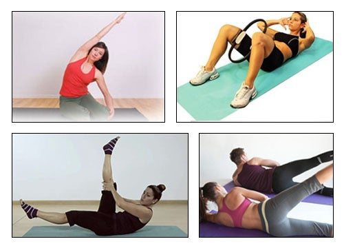 Ćwiczenia pilates na zgrabną figurę