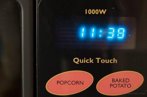 Wyświetlacz kuchenki mikrofalowej