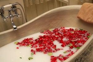 Rozluźniająca kąpiel na mięśnie