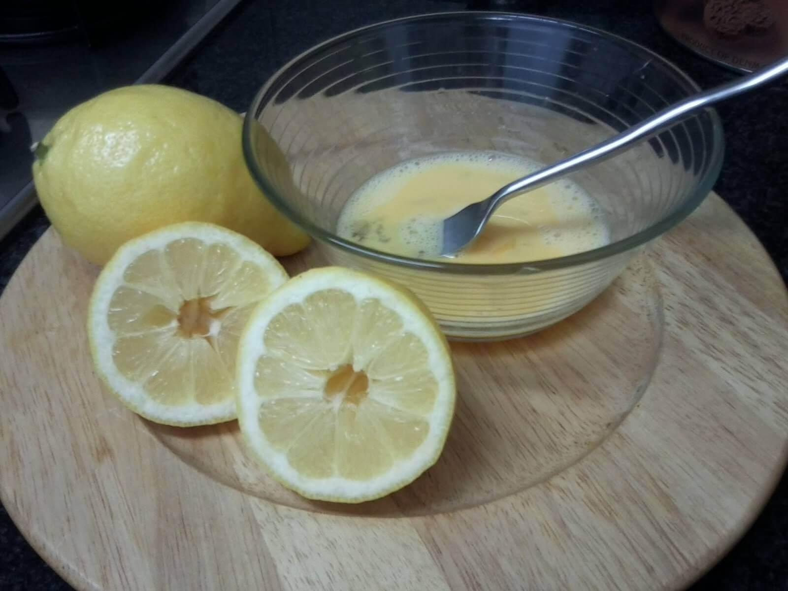 Dwie cytryny i jajko