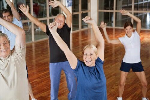 Taniec w grupie
