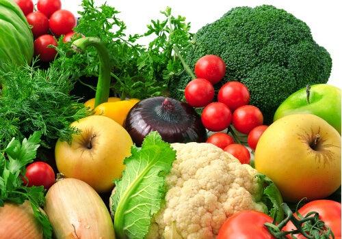 warzywa a chrząstka