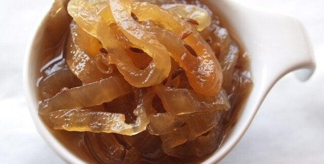 Dżem z karmelizowanej cebuli — przepis