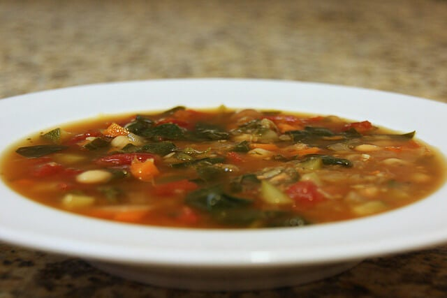Lecznicza zupa warzywna