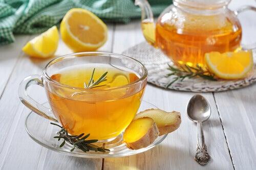 Herbatka na ból gardła
