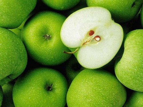 jabłka na płaski brzuch