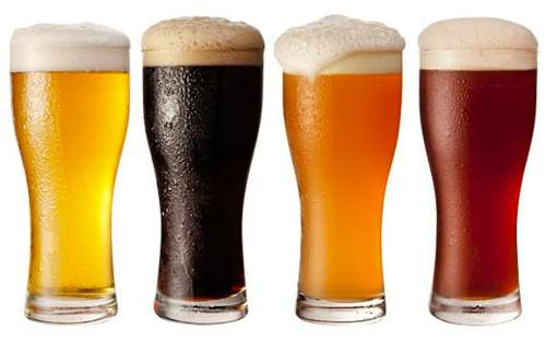 Różne rodzaje piwa