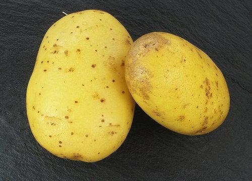 Ziemniaki na włosy