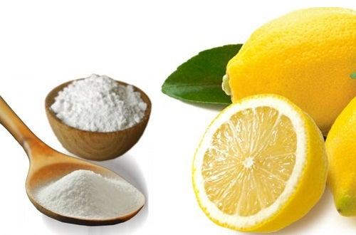 Soda oczyszczona i cytryna