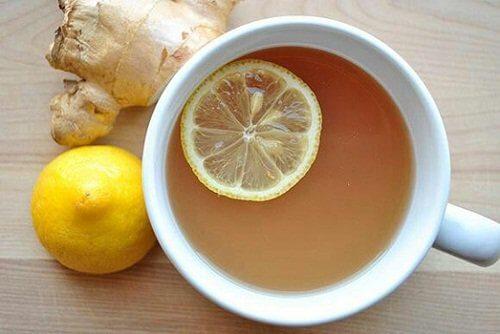 Imbir z cytryną na odporność
