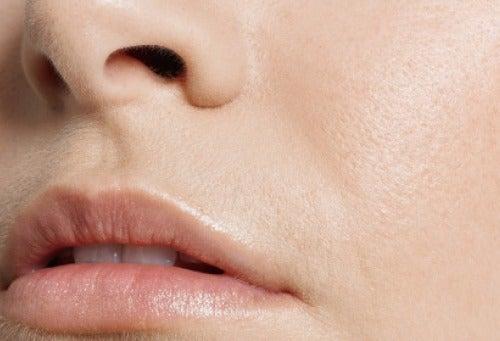 Skóra wokół ust