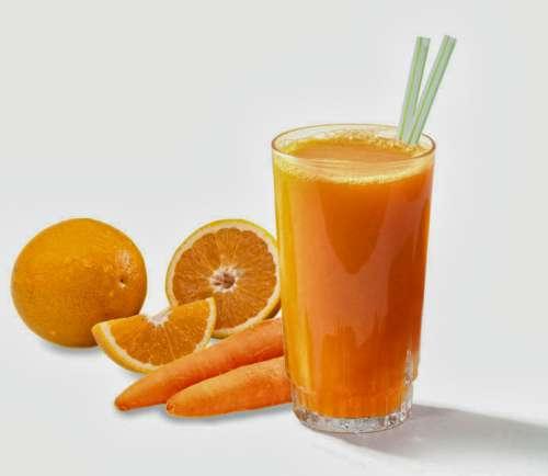 Sok z marchewki i pomarańczy
