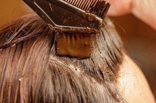 Henna na siwe wlosy