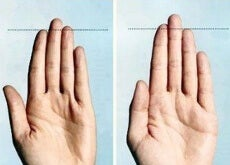Długość palców rąk