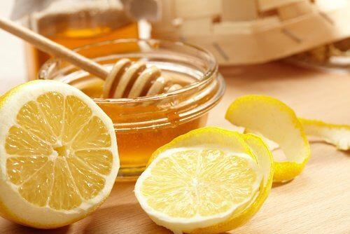 Kuracja na bazie cytryny i miodu