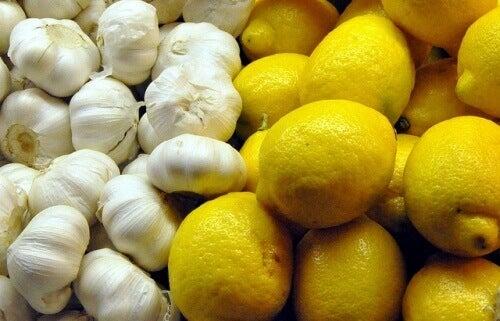 Cytryny i czosnek