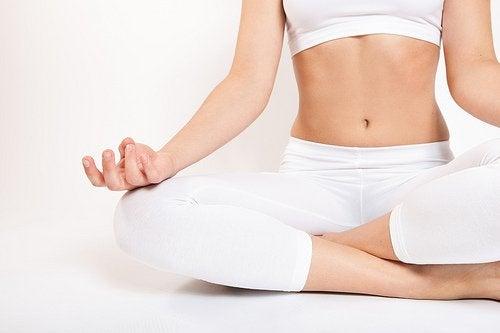 Odprężające ćwiczenia jogi