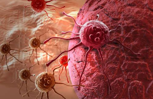 Rozwijające się komórki rakowe
