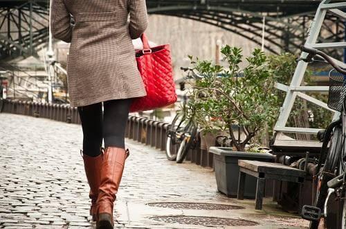 Spacer pomaga kobiecie zrelaksować się