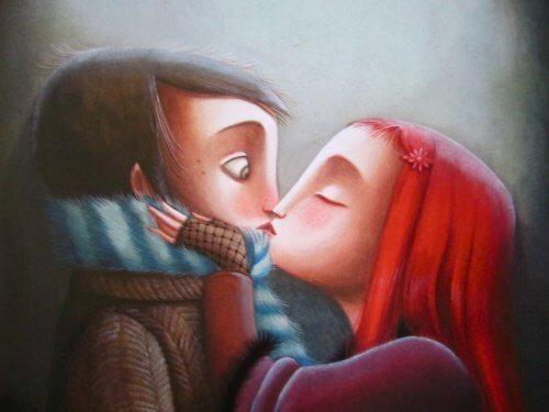 Całowanie partnera