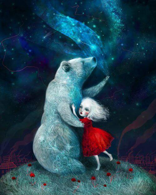 Niedźwiedz i kobieta - Osobowość w związku