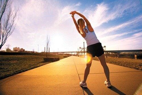 Poranne ćwiczenia naświeżym powietrzu