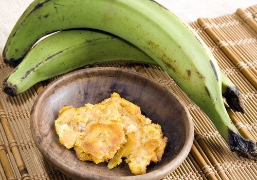 pieczone plantany