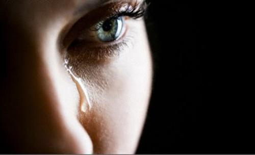 Smutek i łzy