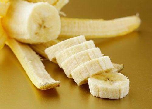 Obrany, pokrojony banan