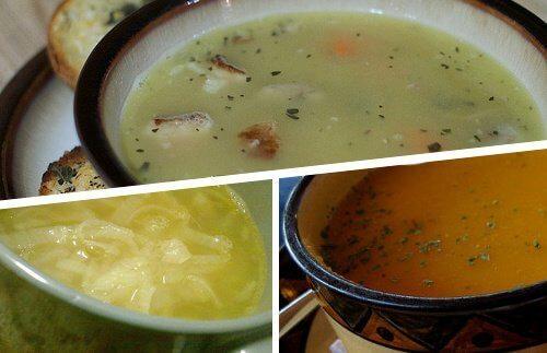 Cztery zupy na przeziębienie