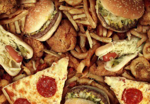 Niezdrowe fast-foody