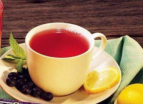 Herbata żurawinowa