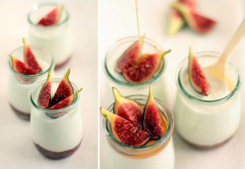 Jogurt z figami na odchudzanie