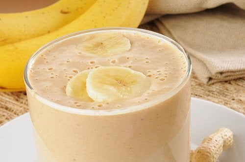 Smoothie z bananem