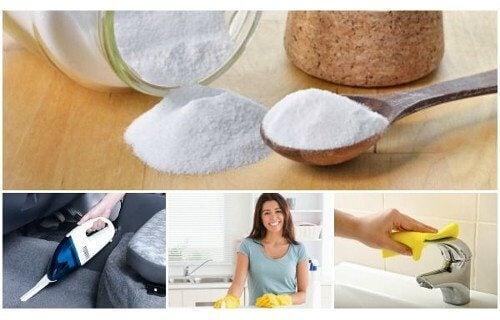 Domowe zastosowania sody oczyszczonej