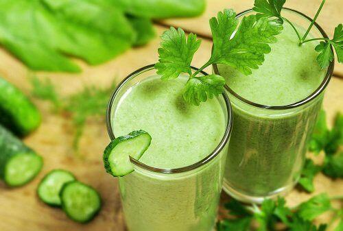 Koktajl z warzyw zielonych