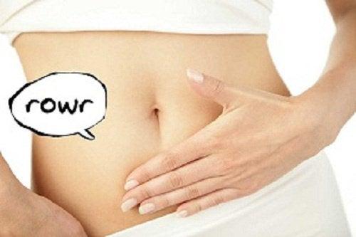Burczenie w brzuchu