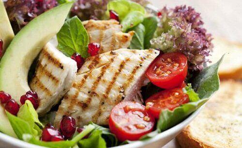 Dieta na szczupłe uda