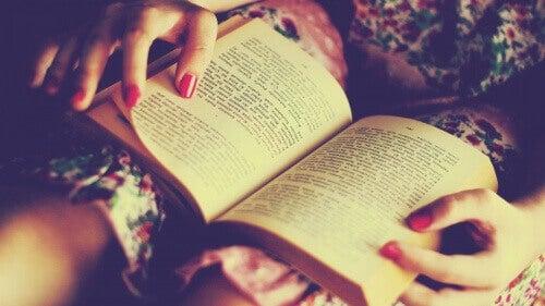Dobre nawyki przed snem - czytanie