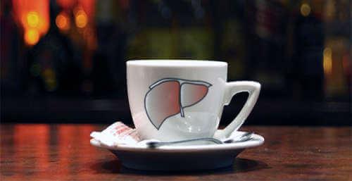 Kawa na wątrobę