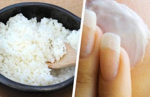 Japońska maseczka z ryżu