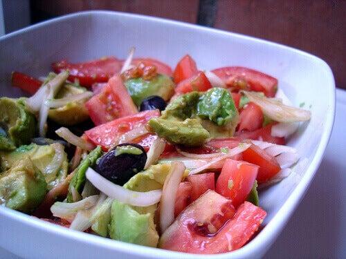 Zdrowa sałatka