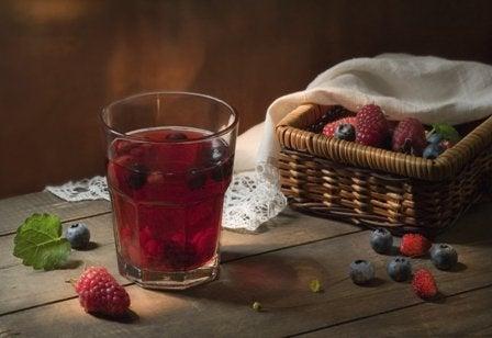 Sok z jagód