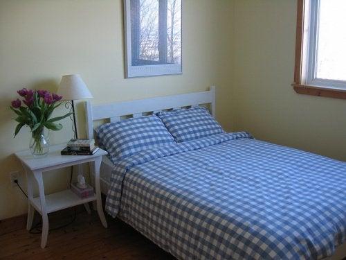 Sypialnia i roztocza