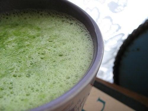 Zielony smoothie warzywny